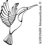 Hummingbird clipart #8, Download drawings
