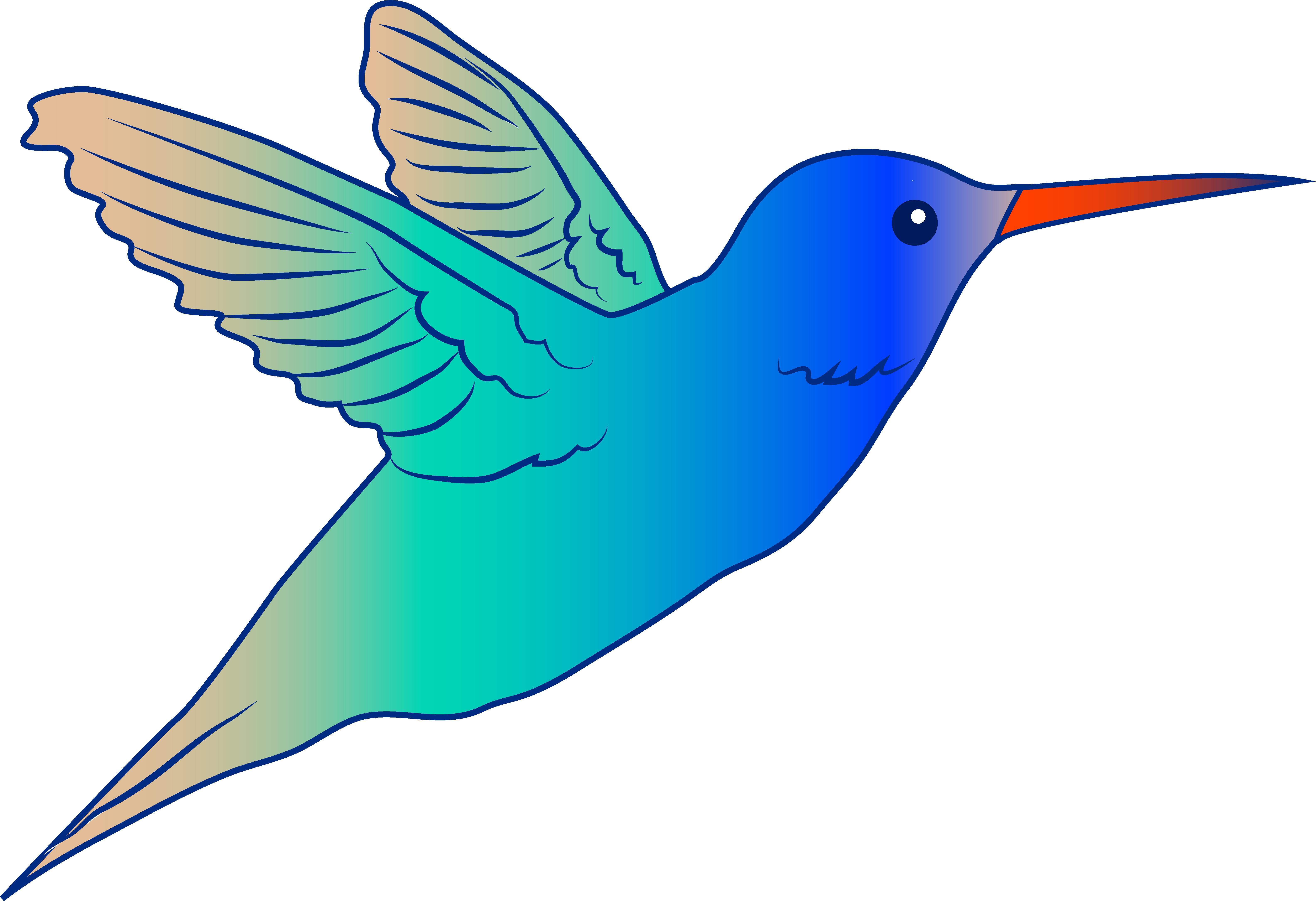 Hummingbird clipart #3, Download drawings