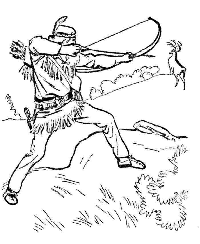 Hunter coloring #11, Download drawings
