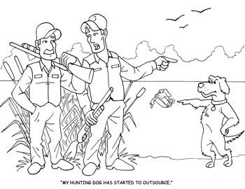 Hunter coloring #12, Download drawings