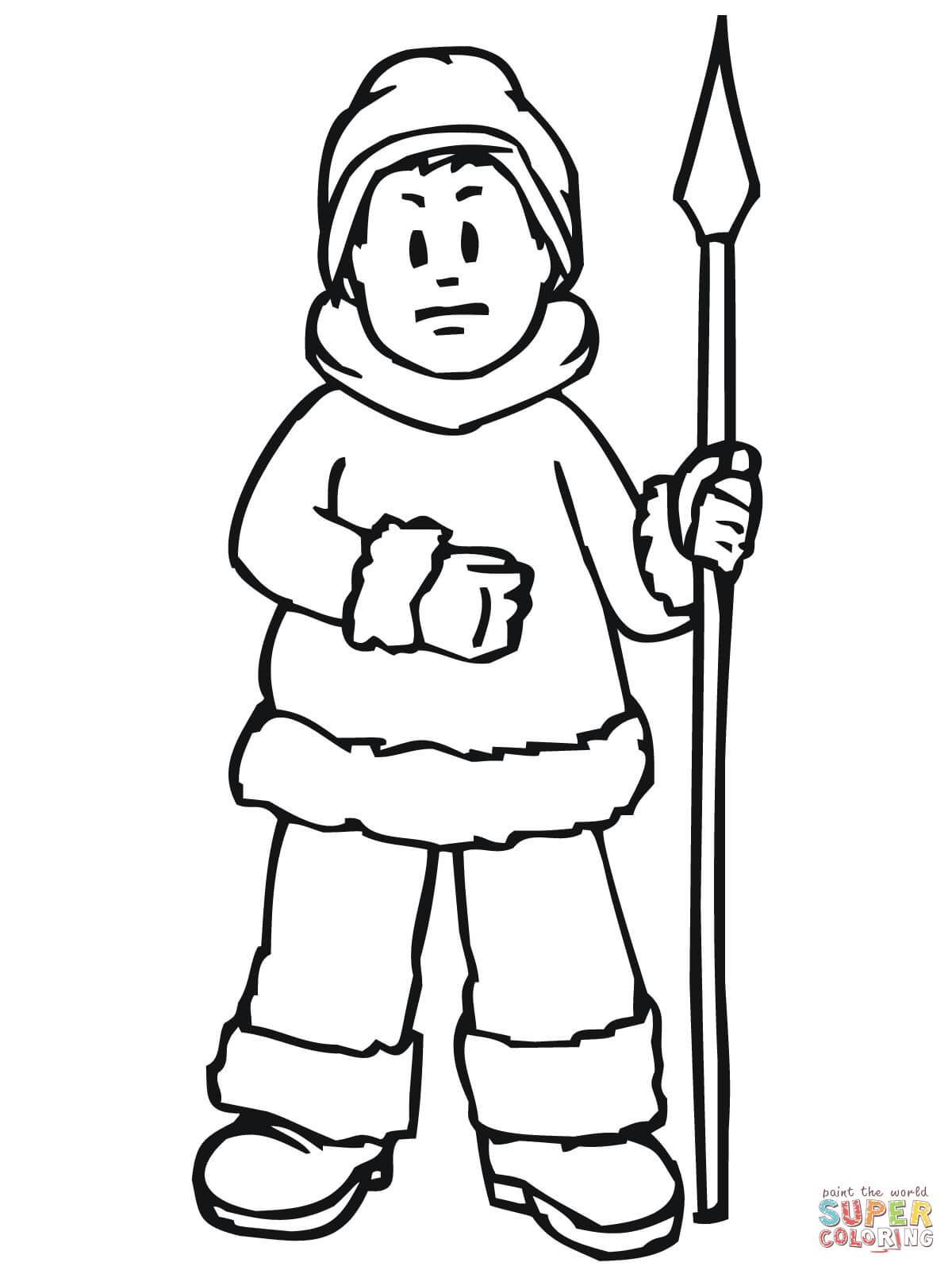 Hunter coloring #2, Download drawings
