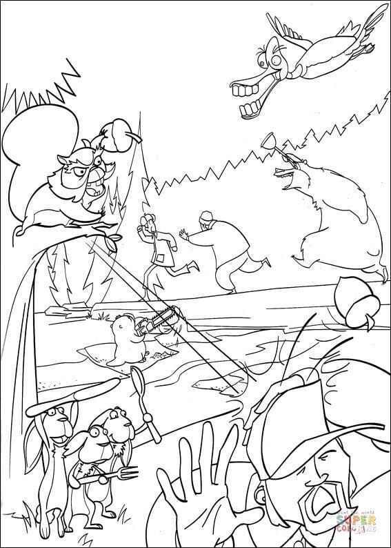 Hunter coloring #1, Download drawings