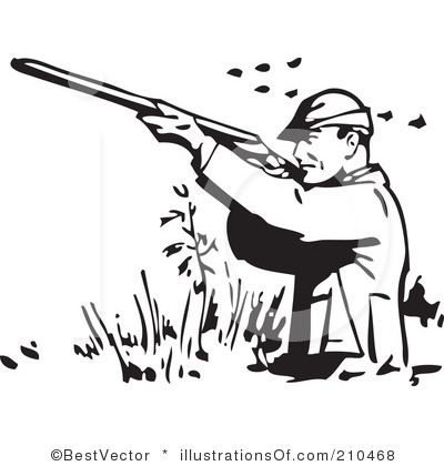 Hunting clipart #17, Download drawings