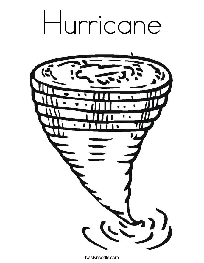 Hurricane coloring #19, Download drawings