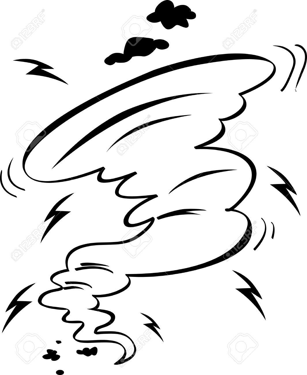 Hurricane coloring #9, Download drawings