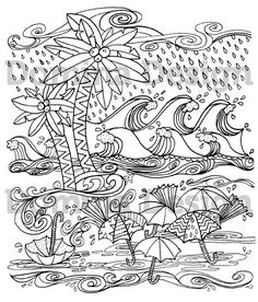 Hurricane coloring #12, Download drawings