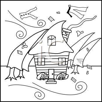 Hurricane coloring #10, Download drawings
