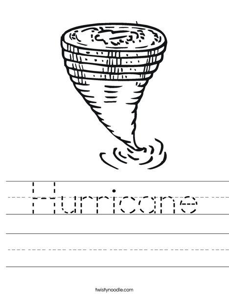 Hurricane coloring #17, Download drawings