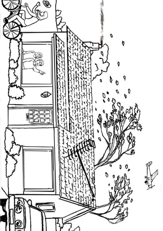 Hurricane coloring #5, Download drawings
