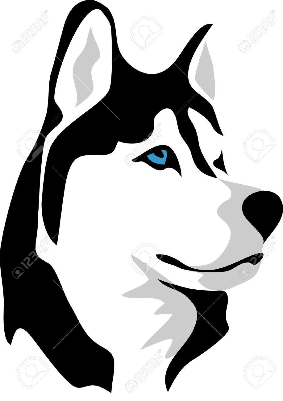 Husky clipart #16, Download drawings