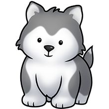 Husky clipart #2, Download drawings