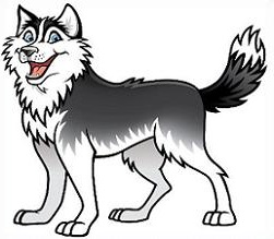 Husky clipart #5, Download drawings