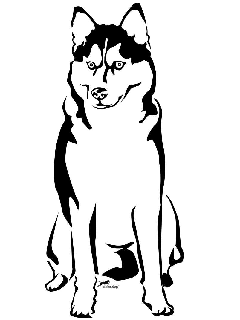 Siberian Husky svg #11, Download drawings