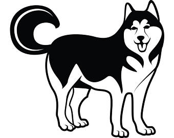 Siberian Husky svg #17, Download drawings