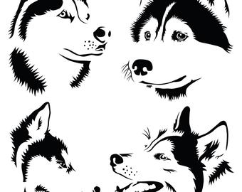 Husky svg #206, Download drawings