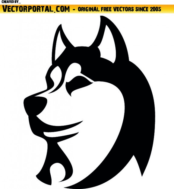Husky svg #205, Download drawings