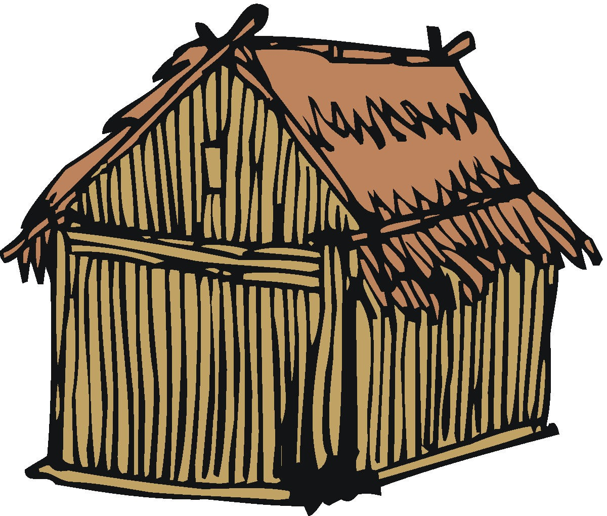 Hut clipart #1, Download drawings
