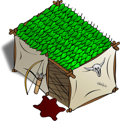 Hut clipart #4, Download drawings