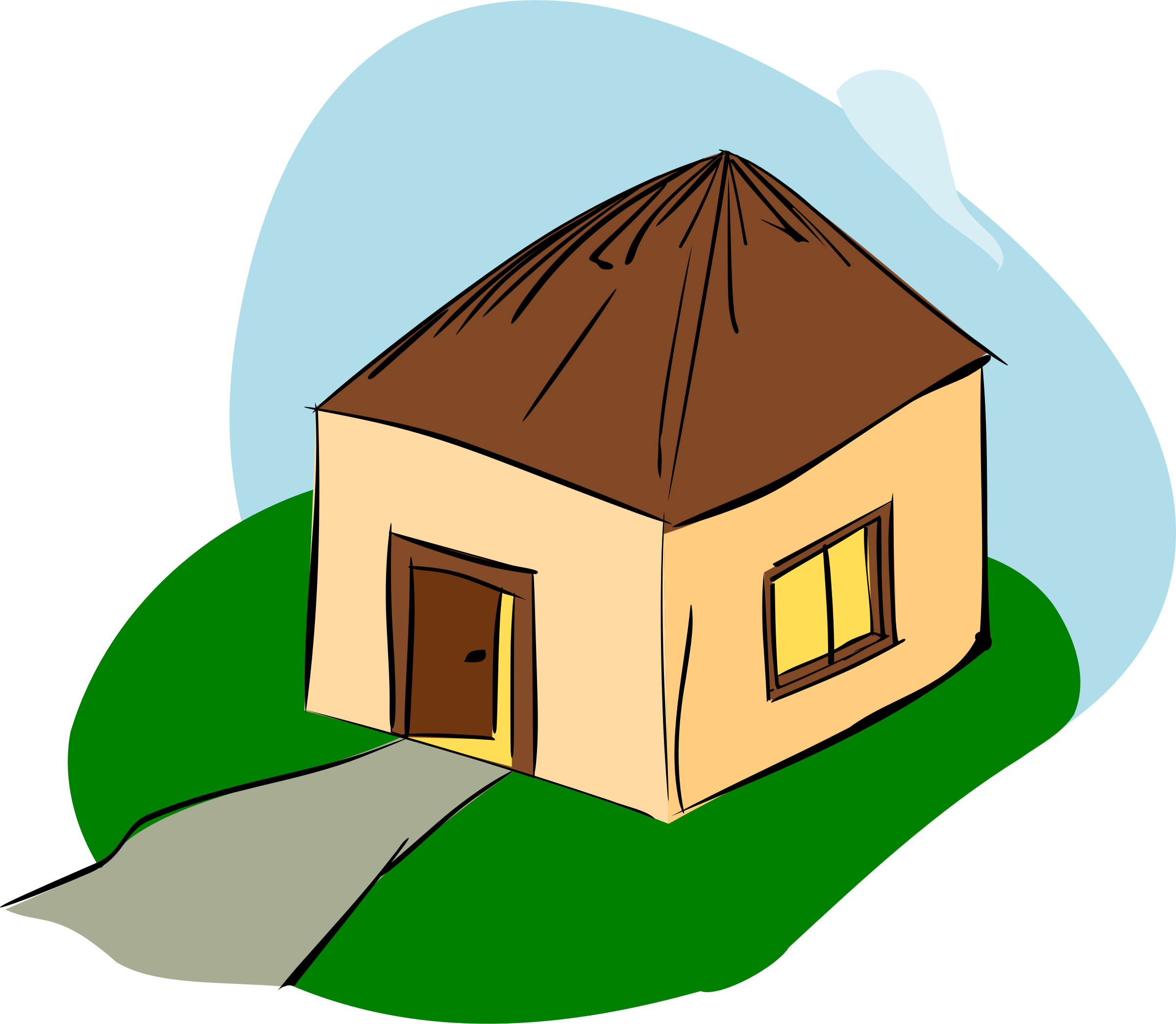 Hut clipart #13, Download drawings