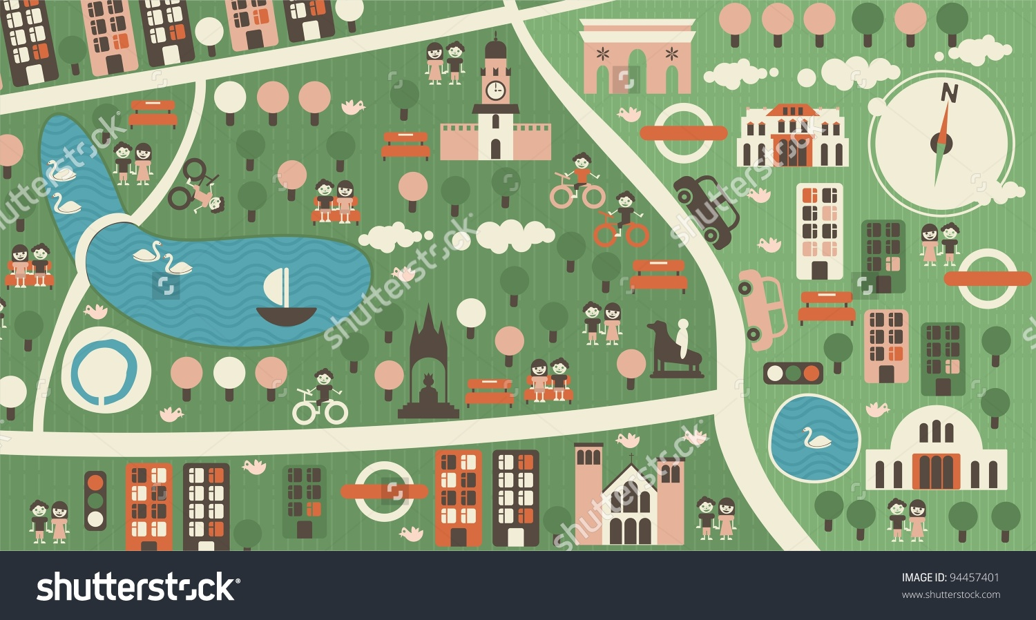 Hyde Park clipart #2, Download drawings