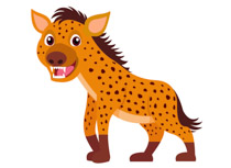 Hyena clipart #5, Download drawings