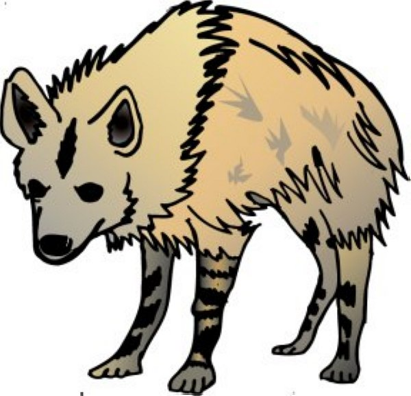 Hyena clipart #4, Download drawings