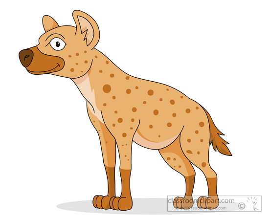 Hyena clipart #17, Download drawings
