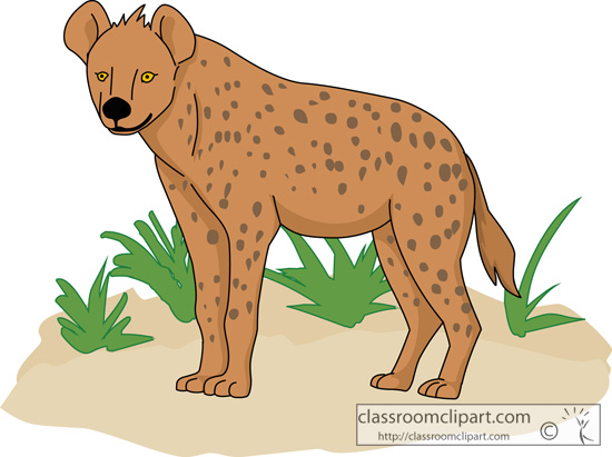 Hyena clipart #7, Download drawings