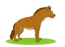 Hyena clipart #16, Download drawings