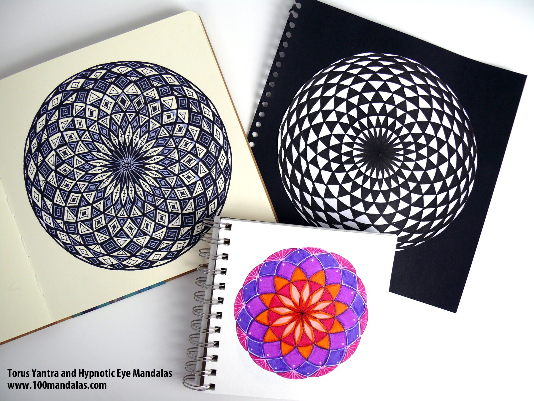 Hypnotic coloring #9, Download drawings