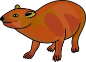 Hyrax clipart #17, Download drawings