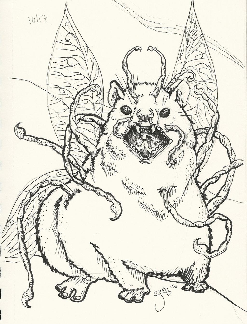 Hyrax coloring #10, Download drawings