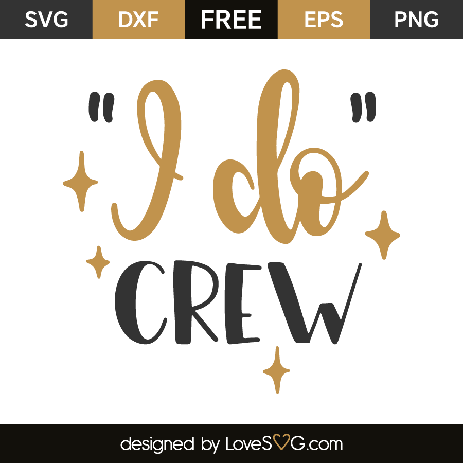 i do crew svg #646, Download drawings