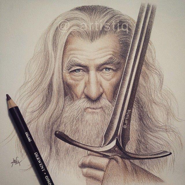 Ian McKellen coloring #3, Download drawings