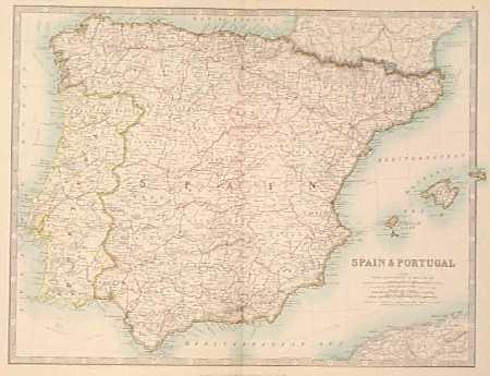 Iberian Peninsula coloring #8, Download drawings