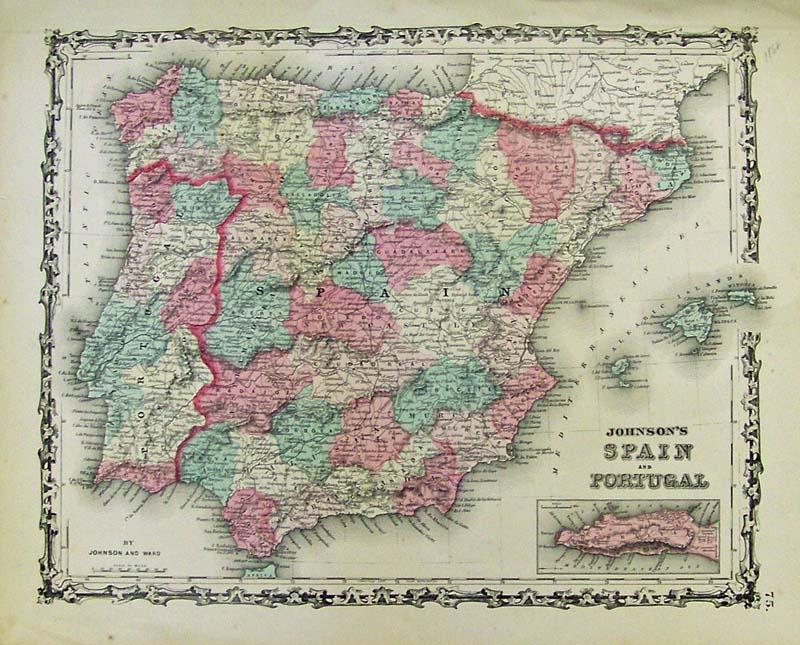 Iberian Peninsula coloring #11, Download drawings