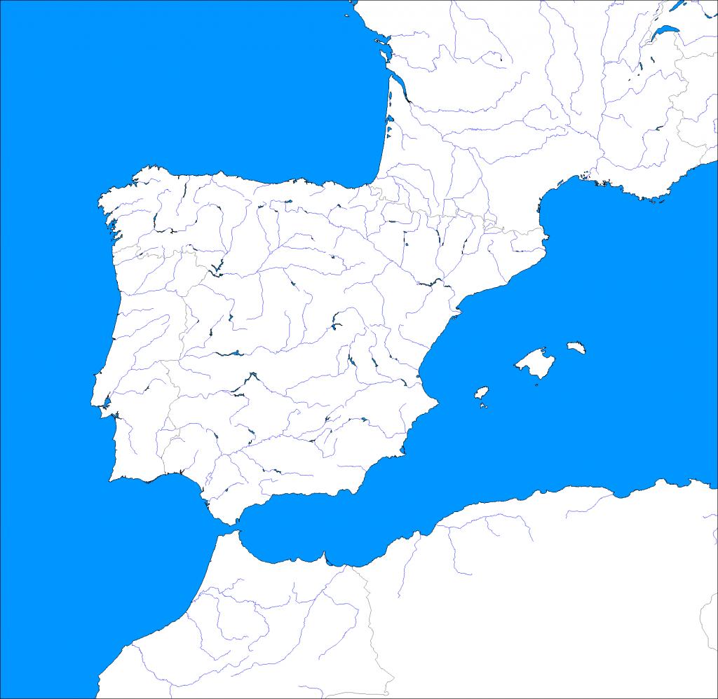 Iberian Peninsula coloring #6, Download drawings