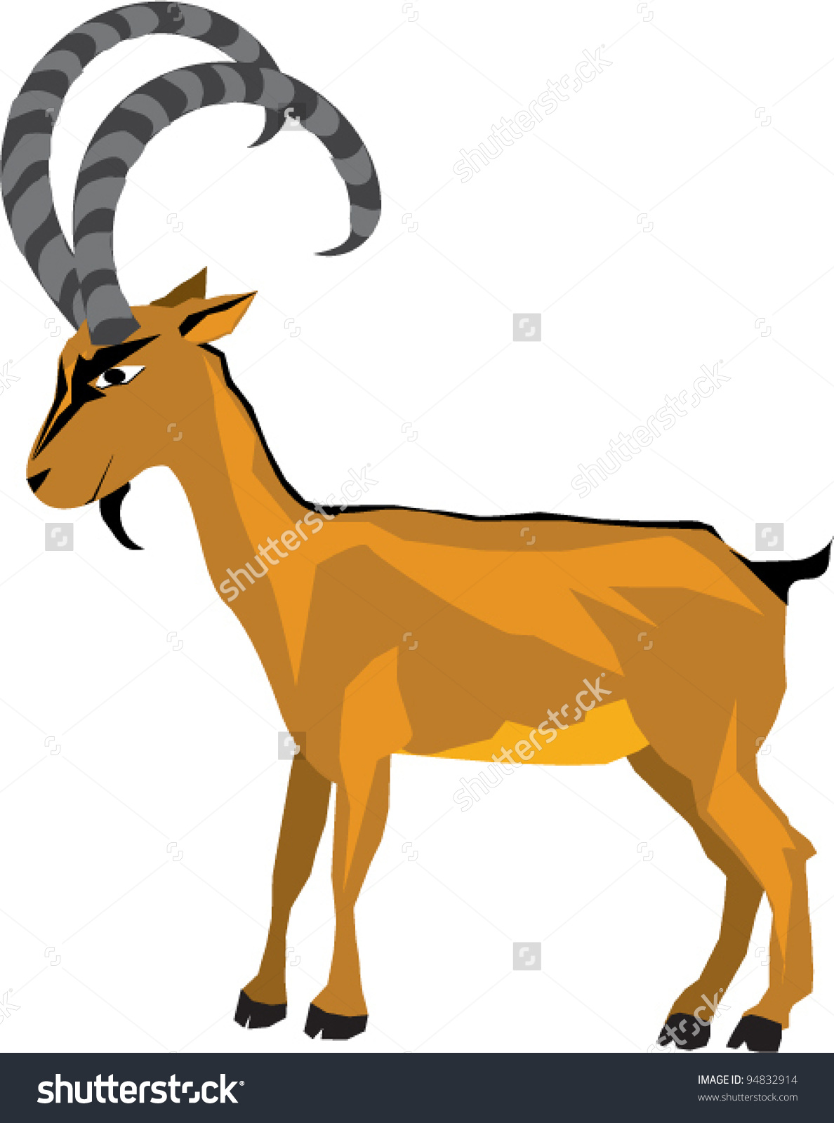 Ibex clipart #6, Download drawings