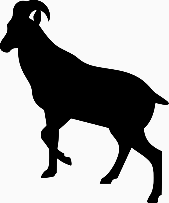 Ibex clipart #1