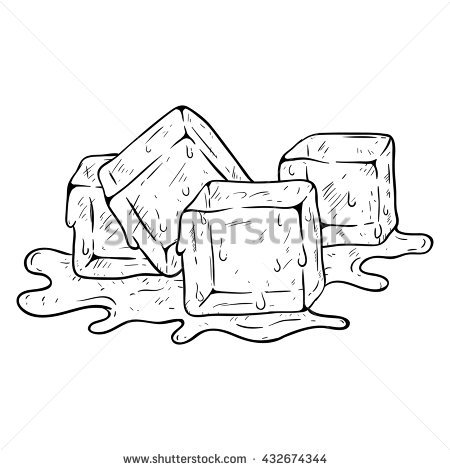 Ice Cubes coloring #10, Download drawings