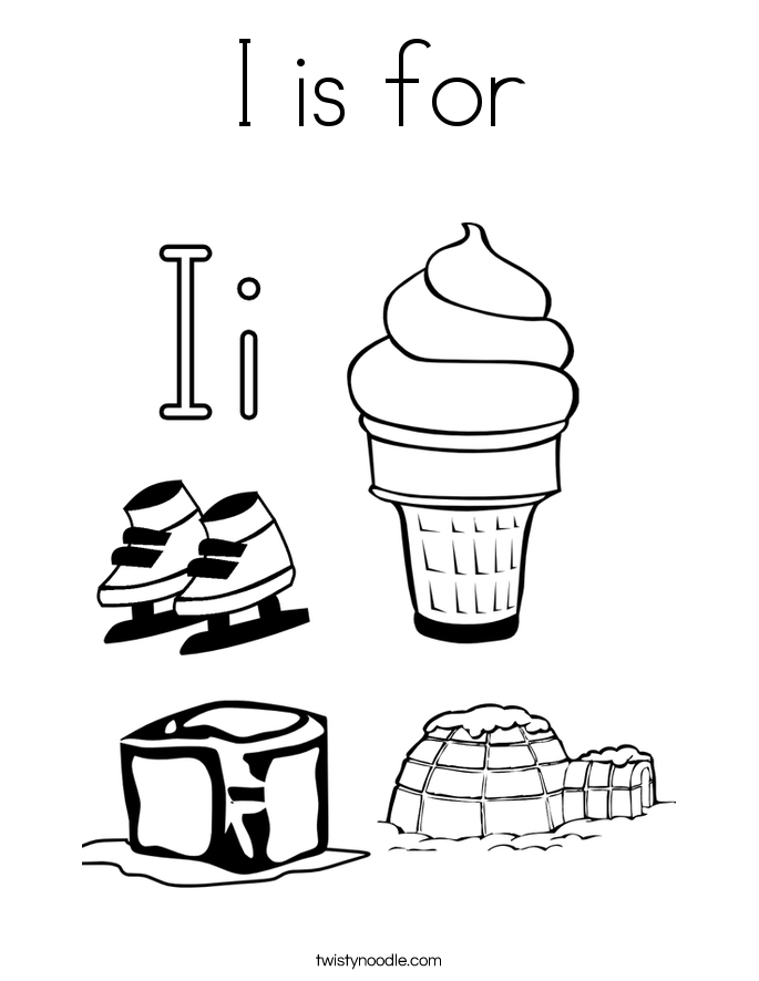 Ice Cubes coloring #13, Download drawings