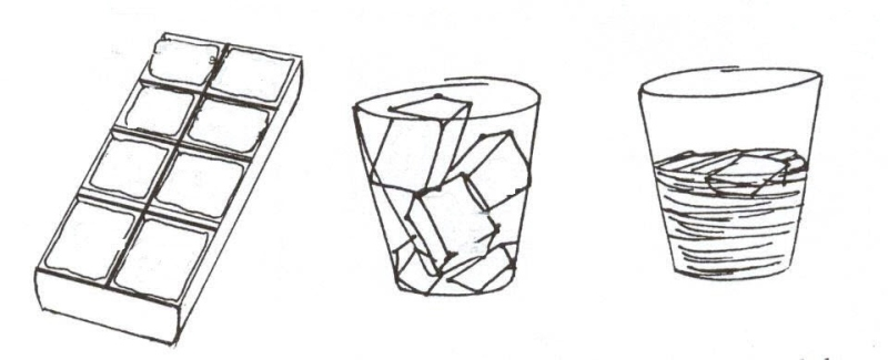 Ice Cubes coloring #7, Download drawings