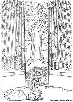 Ice Tree coloring #11, Download drawings