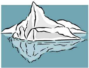 Iceberg clipart #10, Download drawings