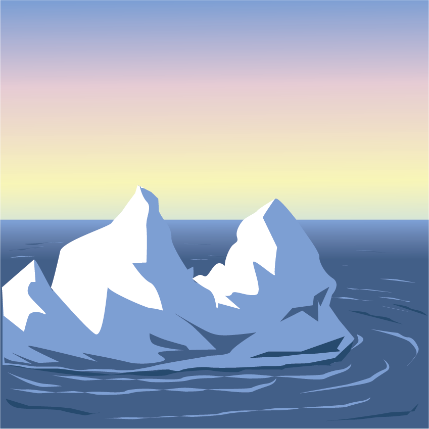 Iceberg clipart #5, Download drawings