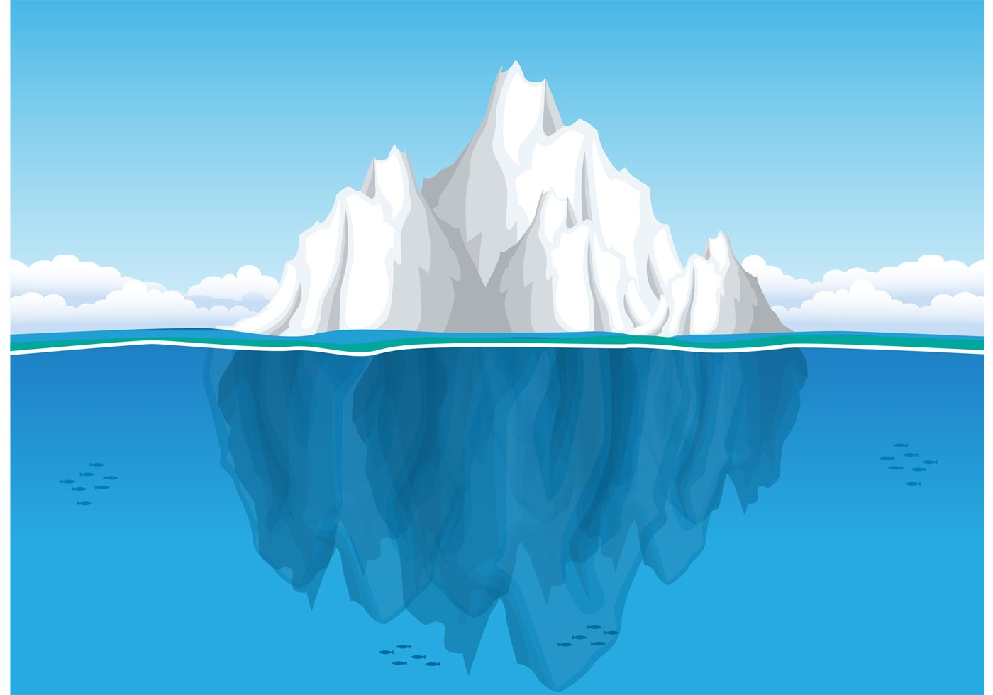 Iceberg clipart #3, Download drawings