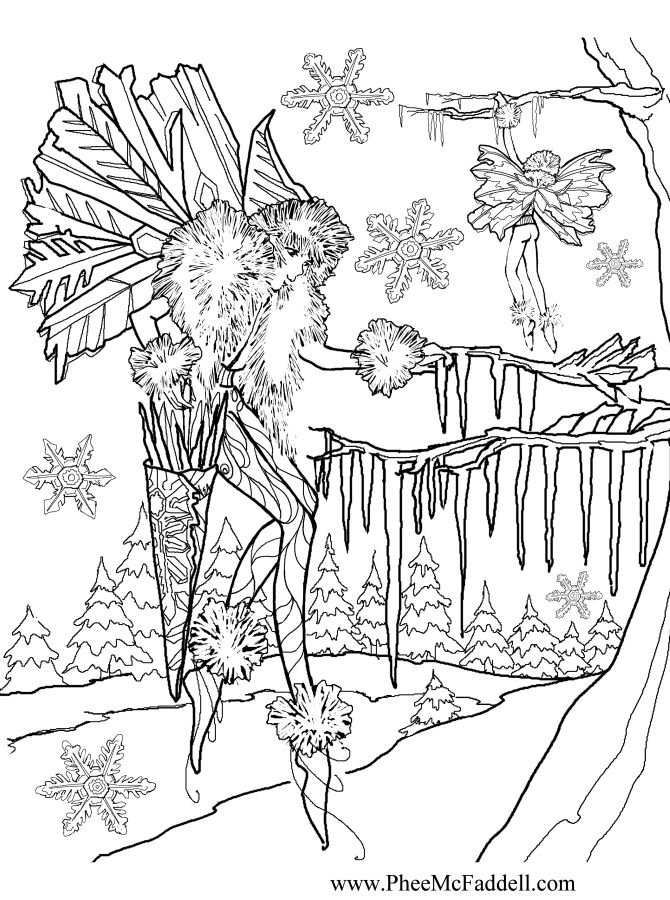 icicle coloring pages - photo#12