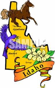 Idaho clipart #2, Download drawings