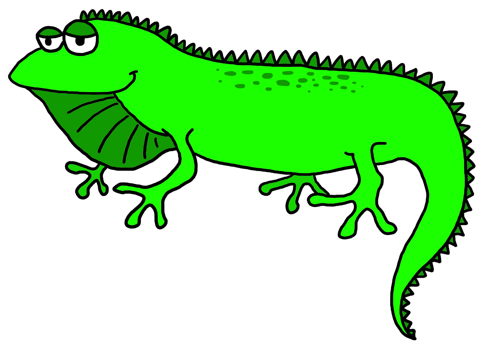 Iguana clipart #7, Download drawings