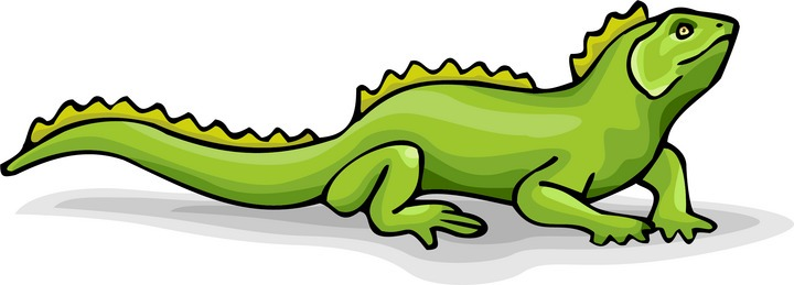 Iguana clipart #1, Download drawings